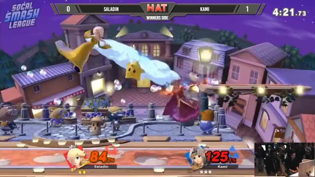 HAT 46 - Saladin (Richter) Vs. Kami (Zelda) Winners Side - Smash Ultimate