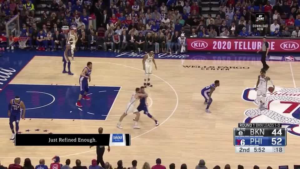 Ben Simmons, Brooklyn Nets, NBA, Philadelphia 76ers, basketball, JJ Redick pick and roll defence GIFs