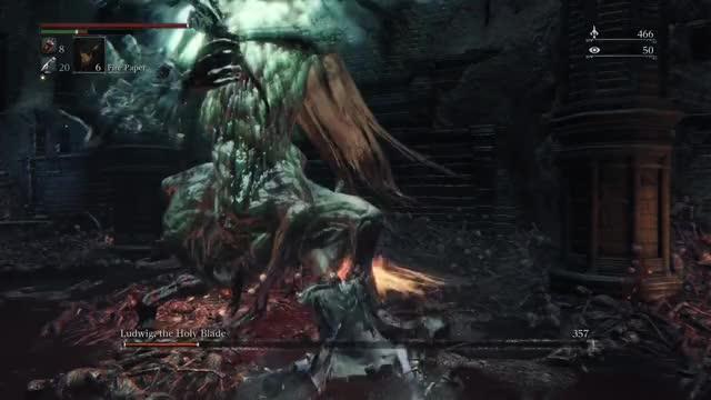 Bloodborne Ludwig