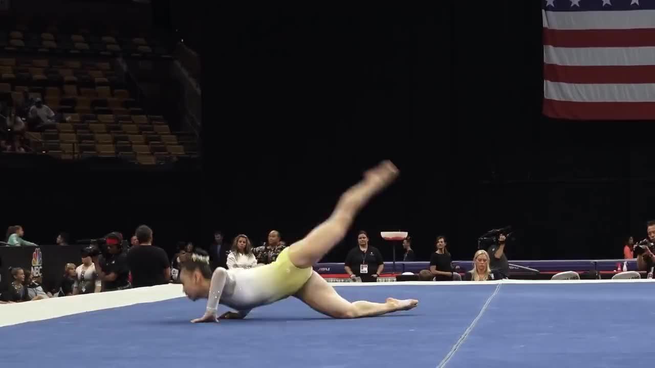 GYMNASTICS, amazing, gymnast, usa, gymnastics GIFs
