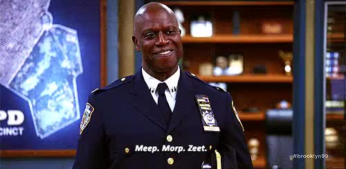 Watch and share Do You Want Captain Ray Holt Reaction GIFs on Gfycat