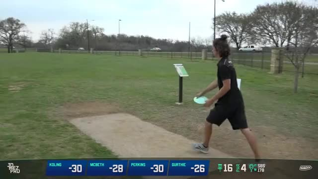 Watch 2018 Waco Charity Open | Final Rd, B9, Lead Card | McBeth, Koling, Perkins, Gurthie GIF on Gfycat. Discover more dgpt, jomez, pdga GIFs on Gfycat