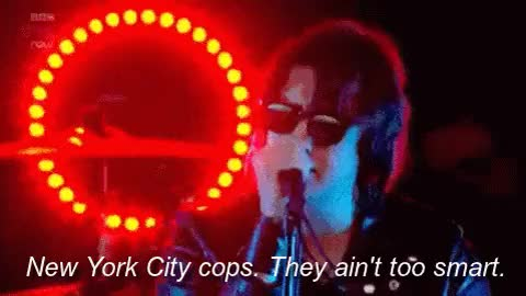 Watch this new york GIF on Gfycat. Discover more albert hammond jr, arctic monkeys, is this it, julian casablancas, new york city, the hives, the strokes, the white stripes GIFs on Gfycat