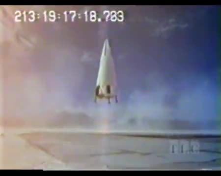 explosions, nasa, spacegfys, McDonnell Douglas DC-XA Failed Landing GIFs