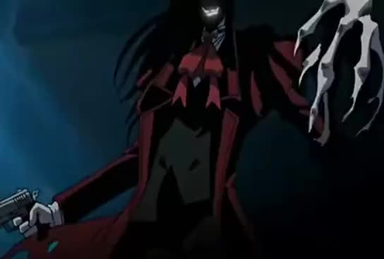 Watch and share Hellsing GIFs and Alucard GIFs on Gfycat