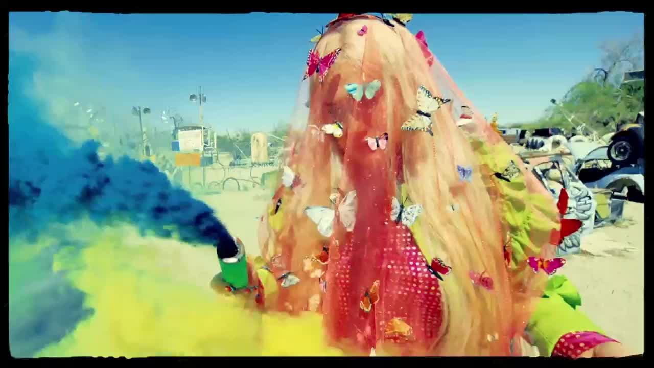 art, butterflies, colorful, cool, kesha, smoke, Kesha - Praying (Official Video) GIFs