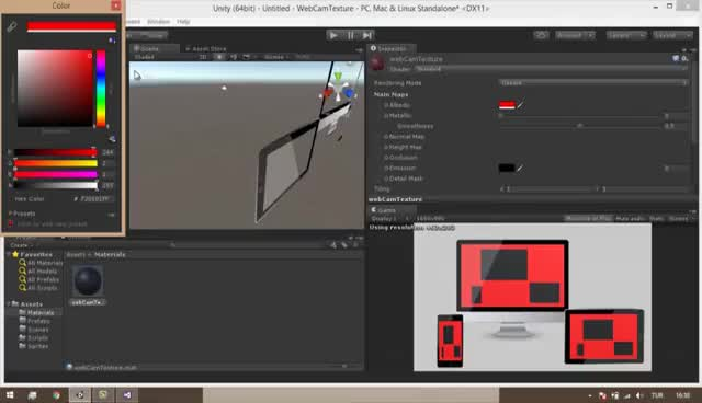 Watch and share Unity3d WebcamTexture GIFs on Gfycat