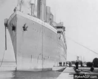 Watch and share The Titanic Leaving Belfast Louch GIFs on Gfycat