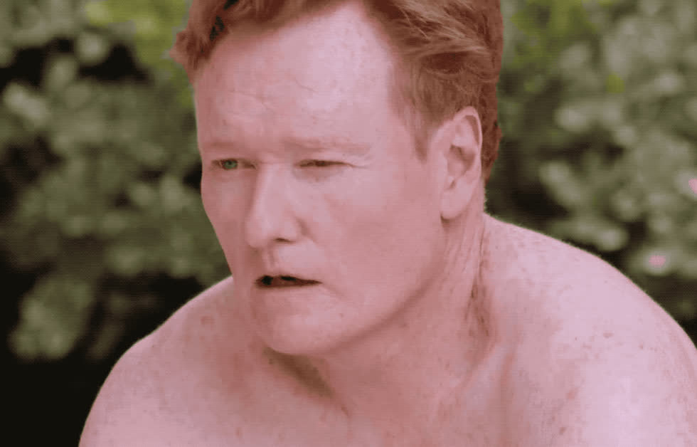 brien, conan, confused, confusion, flirt, flirty, hey, idea, no, o, question, sumo, there, wait, what, worried, worry, wtf, Conan is cofused GIFs