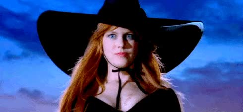 Watch this nicole kidman GIF by The GIF Smith (@sannahparker) on Gfycat. Discover more halloween, nicole kidman, practical magic, witch, witch's hat GIFs on Gfycat