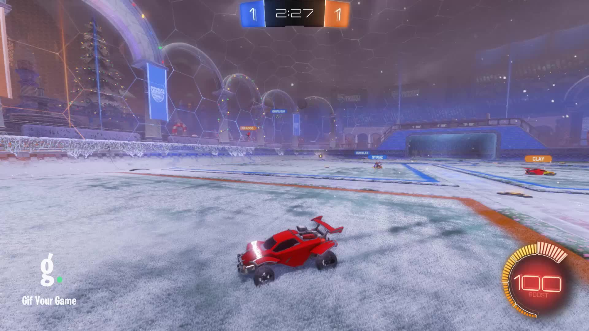 Gif Your Game, GifYourGame, Goal, Rocket League, RocketLeague, xTheBriggs, Goal 3: xTheBriggs GIFs