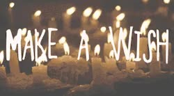 Watch and share Mine Childhood Birthday Candles Wishes GIFs on Gfycat