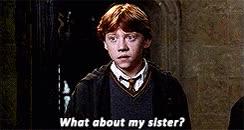 Watch and share Ron Weasley Ginny Weasley * Gif* The Weasleys Hpedit By Gauri GIFs on Gfycat