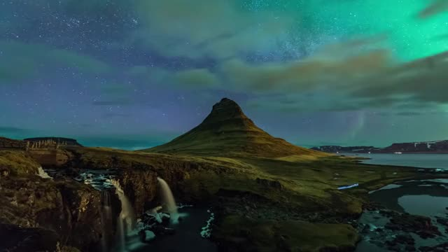 Watch Iceland Timelapse 2016 GIF by @peterm on Gfycat. Discover more aurora, iceland, night, northern light, photography, timelapse, vacation GIFs on Gfycat