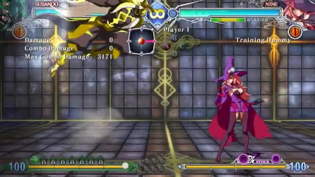 Watch BBCF: Susanoo Combo with CT GIF by snuffychris605 (@snuffychris605) on Gfycat. Discover more related GIFs on Gfycat