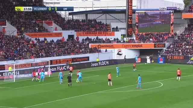 Dimitri Payet (Marseille) goal against Lorient (0-2)