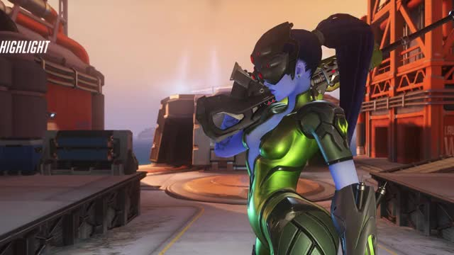 Watch and share Widowmaker GIFs and Highlight GIFs by 072888902 on Gfycat