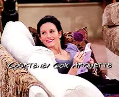 Watch and share Courteney Cox GIFs and Monica Geller GIFs on Gfycat