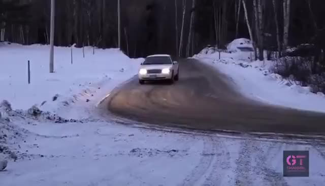 Watch and share Dai Yoshihara Drifting Crown Victoria In The Snow GIFs on Gfycat