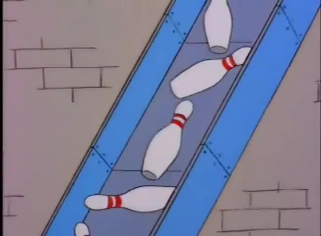 Watch and share Where The Pins Go (The Simpsons) GIFs by Christmasgifs on Gfycat