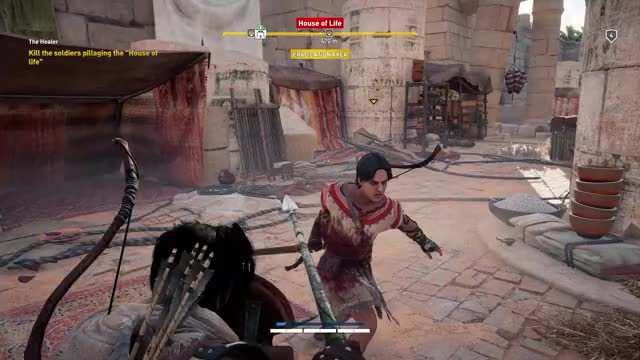Watch and share Ac Origins GIFs and Satisfying GIFs by R3STRIKT3D on Gfycat