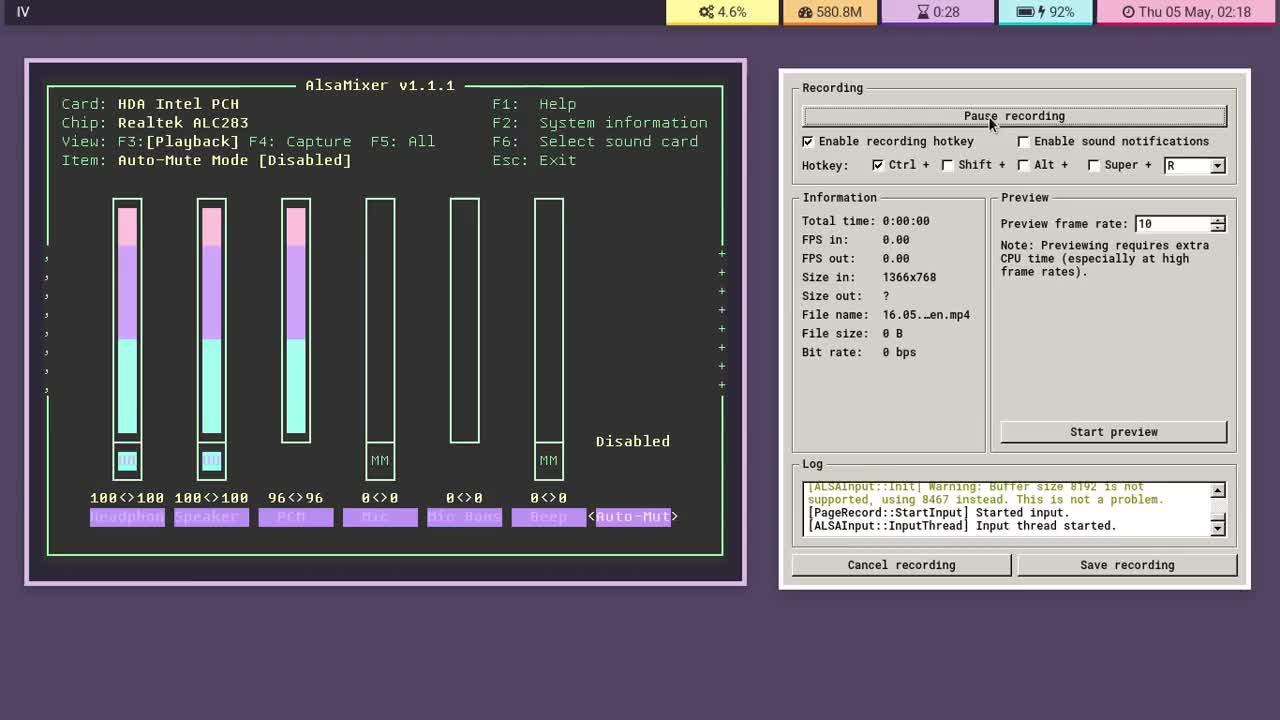 Arch Linux, Bspwm, Chromebook C720, Archlinux Bspwm Chromebook C720 GIFs