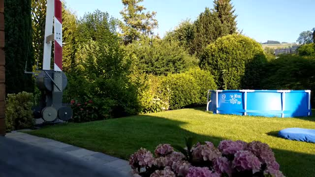 Watch and share Ripsave - I Have A Fully Working 1980s SBB Railroad Crossing Gate In My Garden. GIFs by marshal on Gfycat