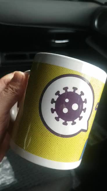 Watch and share Coronavirus Mug GIFs by stadsjaap on Gfycat