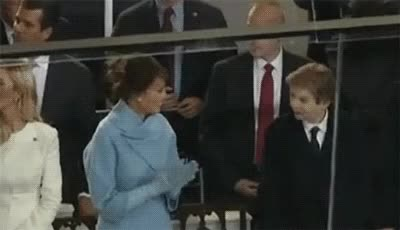 Watch and share Melania Trump GIFs and High Five GIFs on Gfycat