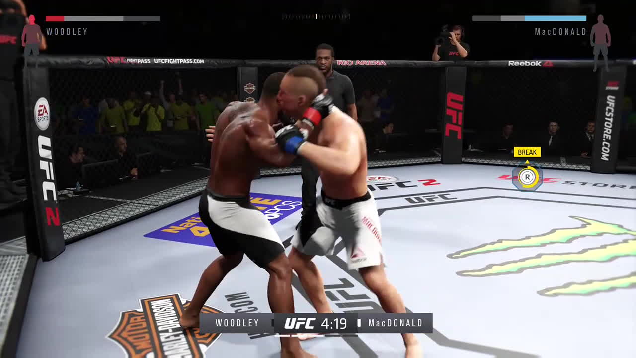 EASportsUFC, ea sports™ ufc® 2, xbox one, Rolling GIFs