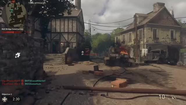 Watch this GIF by Xbox DVR (@xboxdvr) on Gfycat. Discover more CallofDutyWWII, RagsToRighteous, xbox, xbox dvr, xbox one GIFs on Gfycat