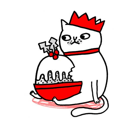 Watch and share Pudding By Gemma Correll GIFs on Gfycat