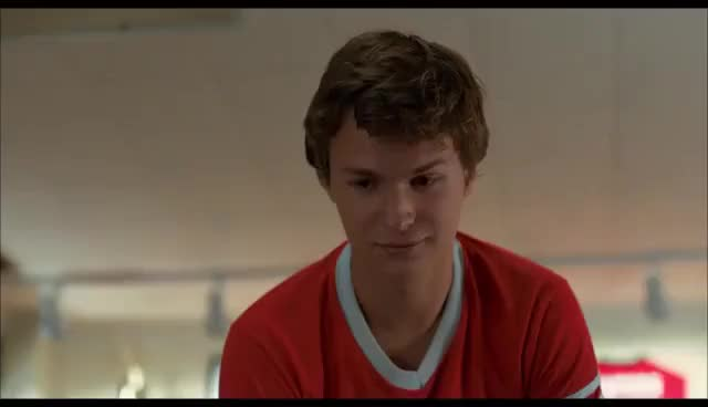 Watch Gus and Hazel GIF on Gfycat. Discover more ansel elgort GIFs on Gfycat