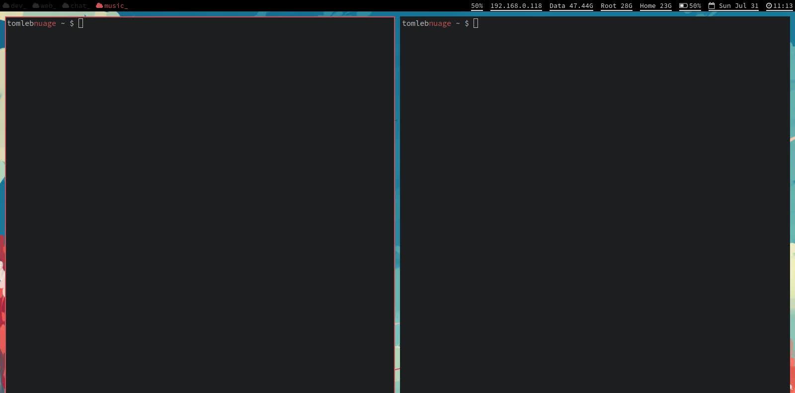 archlinux, Weird compton glitches GIFs