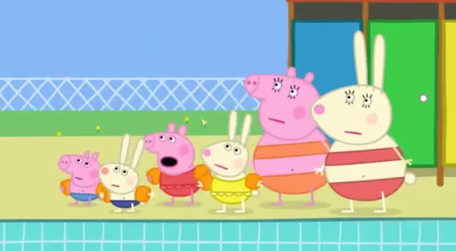 Watch Peppa Pig - Swimming GIF on Gfycat. Discover more related GIFs on Gfycat