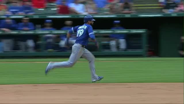 Watch and share Baseball GIFs and Bautista GIFs by amazeballs on Gfycat