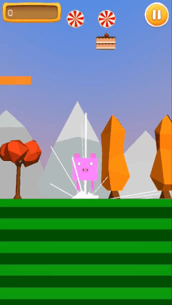 androiddev, indiegames, unity3d, Jumpy Jump Gameplay 1 GIFs
