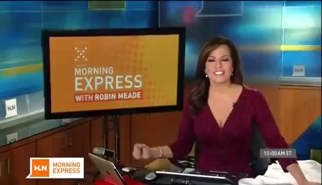 Watch and share Robin Meade - Big Tits,Booty & Boots 11-6-14 GIFs on Gfycat