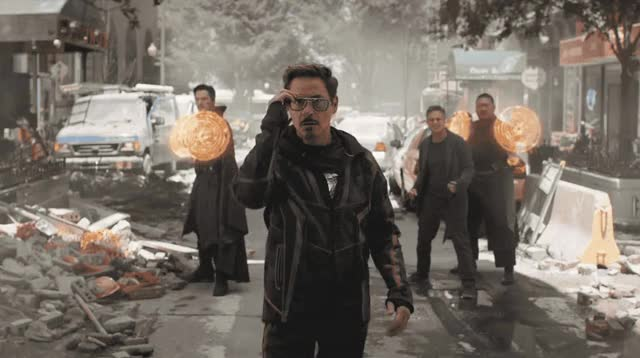 Watch this iron man GIF by ioanna on Gfycat. Discover more avengers, cool, downey, infinity, iron man, junior, marvel, mustache, my, oh, omg, robert, robert downey jr, scared, surprise, surprising, tony stark, war, wtf GIFs on Gfycat