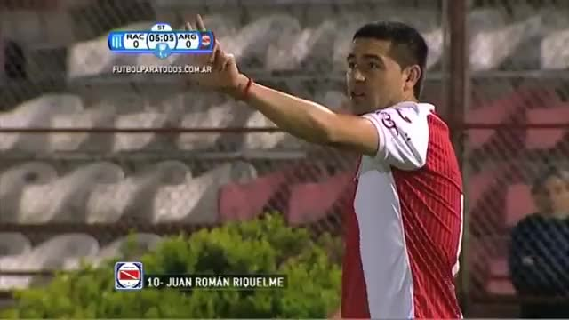 Watch and share Riquelme Racing-Argentinos GIFs on Gfycat