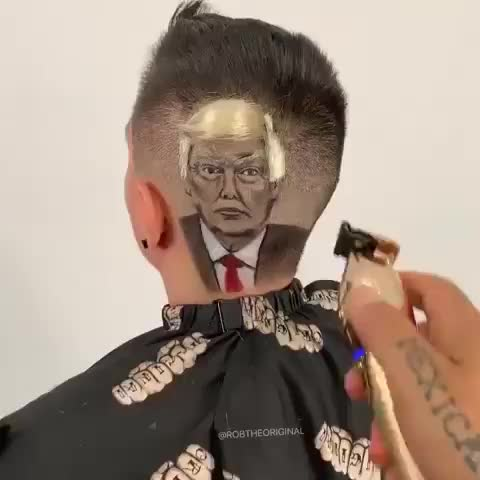 Watch and share Donald Trump GIFs and Haircut GIFs on Gfycat