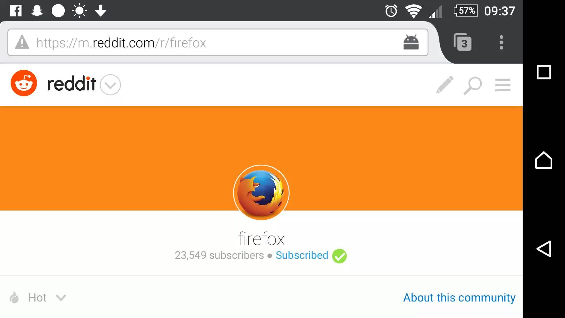android, firefox, Firefox quick history GIFs