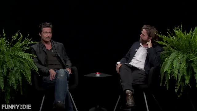 Watch this between two ferns GIF by Funny Or Die (@funnyordie) on Gfycat. Discover more between two ferns, between two ferns with zach galifianakis, brad pitt, bradpitt, fod, funny or die, funnyordie, zach galifianakis, ▶ Between Two Ferns with Zach Galifianakis Brad Pitt, ▶ between two ferns with zach galifianakis brad pitt GIFs on Gfycat
