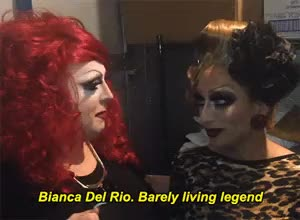 Watch and share Bianca Del Rio GIFs and Mimi Imfurst GIFs on Gfycat