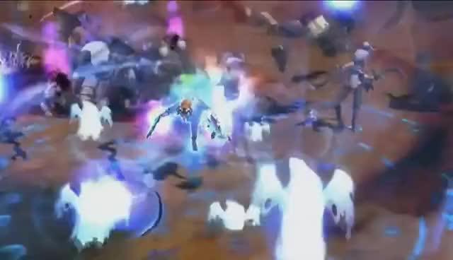 Watch and share 【ドラゴンネストR】ファンイベント -覚醒の秋- ステージイベント 卡莉覺醒 GIFs on Gfycat