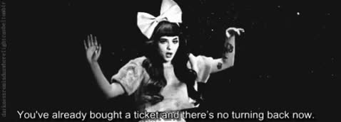 Watch this GIF on Gfycat. Discover more blackandwhite, blackandwhitegif, carousel, melanie martinez, no turning back GIFs on Gfycat