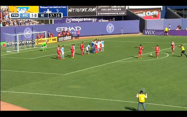 Watch 1-1 Tierney Goal vs NYCFC GIF by @ryan16 on Gfycat. Discover more MLS, newenglandrevolution GIFs on Gfycat