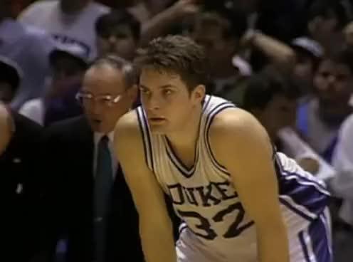 Watch and share Christian Laettner The Shot 1992 Duke Vs. Kentucky Basketball GIFs on Gfycat