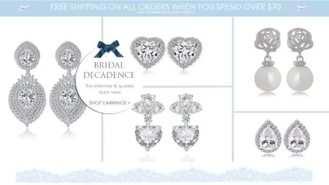 Watch and share Dropper Earrings GIFs and Wedding Earrings GIFs by The Wedding Garter  on Gfycat
