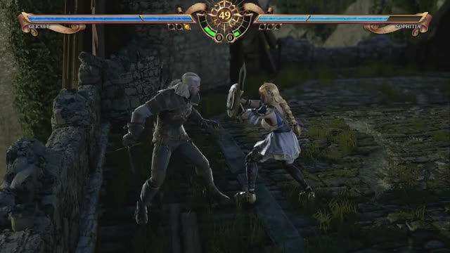 Watch SoulCalibur VI Witcher Geralt moveset #2 GIF by @szymrad on Gfycat. Discover more related GIFs on Gfycat